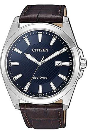 Citizen Mens Analogue Quartz Watch with Leather Strap BM7108-22L