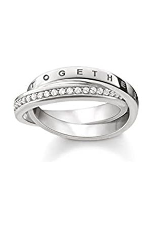 Thomas Sabo Women's 925 Sterling Glam and Soul Together Forever Ring - Size M TR2099-051-14-54