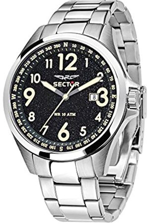 Sector Men's Analogue Quartz Watch with Stainless Steel Strap R3253180003