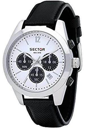Sector Men's Chronograph Quartz Watch with Leather Strap R3271786007