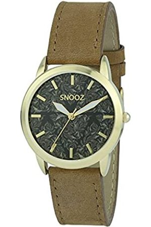 Snooz Women's Analogue Quartz Watch with Leather Strap Spa1039-88