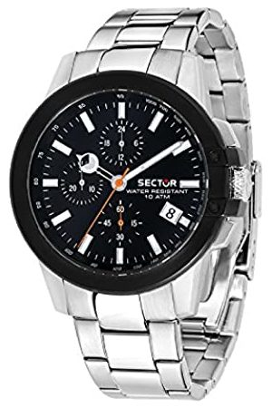 Sector Mens Chronograph Quartz Watch with Stainless Steel Strap R3273797005
