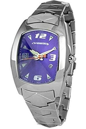 Chronotech Mens Analogue Quartz Watch with Stainless Steel Strap CT7504M-08M