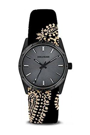 Zadig & Voltaire Unisex Adult Analogue Quartz Watch with Textile Strap ZVF206-2