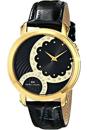 Carlo Monti Women's Quartz Watch with Dial Analogue Display and Leather Bracelet CM802-222