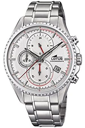 Lotus Mens Chronograph Quartz Watch with Stainless Steel Strap 18526/1