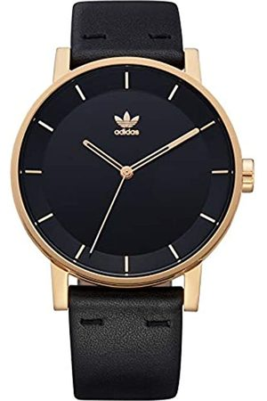 adidas Mens Analogue Quartz Watch with Leather Strap Z08-1604-00