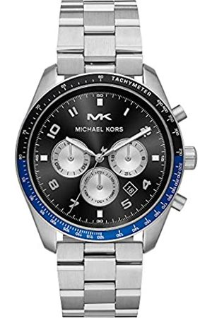Michael Kors Unisex Adult Chronograph Quartz Watch with Stainless Steel Strap MK8682