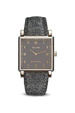 Selvine Womens Analogue Quartz Watch with Stainless Steel Strap SCHE10