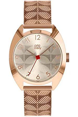Orla Kiely Unisex Adult Analogue Classic Quartz Watch with Stainless Steel Strap OK4088