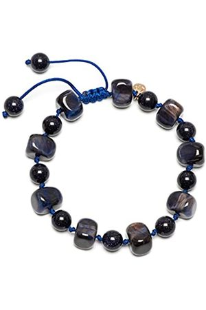 Lola Rose Sury Navy Tigers Eye Bss Bracelet