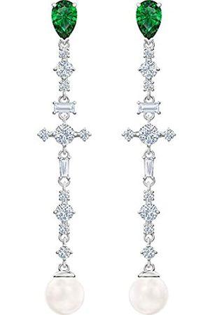 Swarovski Women Stainless Steel Dangle & Drop Earrings 5493098