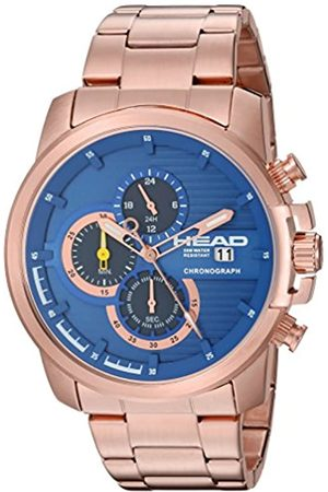 Head Men's Chronograph Quartz Watch with Stainless Steel Strap HE-003-05