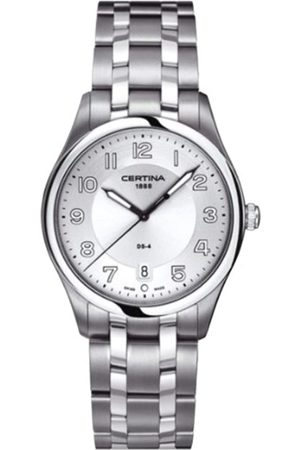Certina Men's Watch XL Analogue Quartz Stainless Steel C022,410,11,030