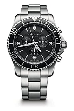 Victorinox Men's Chronograph Quartz Watch with Stainless Steel Bracelet – 241695