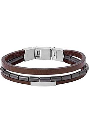 Fossil Men Stainless Steel Strand Bracelet - JF03131040
