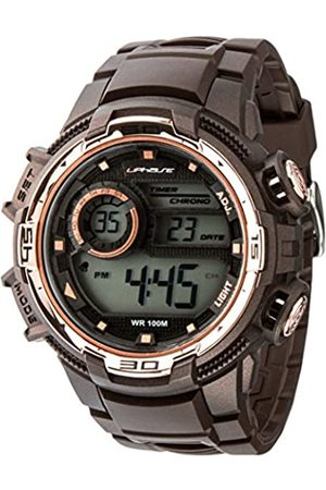 UphasE Men's Digital Quartz Watch with Plastic Strap UP705-130