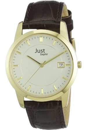 Just Watches Men's Quartz Watch 48-S11240-Gd with Leather Strap