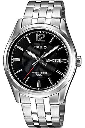 Casio Men's Analogue/Digital Quartz Watch with Metal Bracelet MTP1335PD-1AVEF