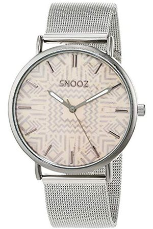 Snooz Men's Analogue Quartz Watch with Stainless Steel Strap Saa1042-82