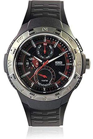 Munich Unisex Adult Analogue Quartz Watch with Rubber Strap MU+118.1A