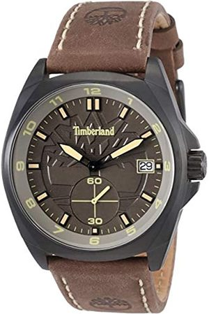 Timberland Mens Analogue Classic Quartz Watch with Leather Strap TBL.15354JSB/79