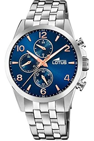 Lotus Mens Chronograph Quartz Watch with Stainless Steel Strap 18629/2