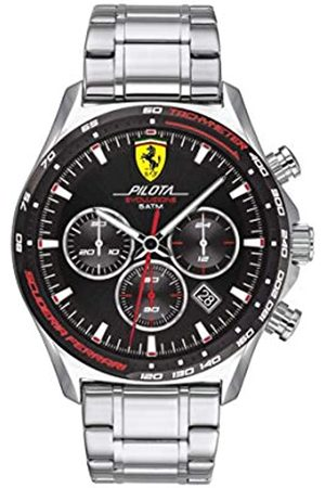 Scuderia Ferrari Men's Analogue Quartz Watch with Stainless Steel Strap 0830714
