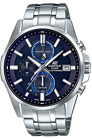 Casio Mens Chronograph Quartz Watch with Stainless Steel Strap EFB-560SBD-2AVUER