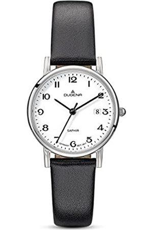 DUGENA Women's Analogue Quartz Watch with Leather Strap 4460728
