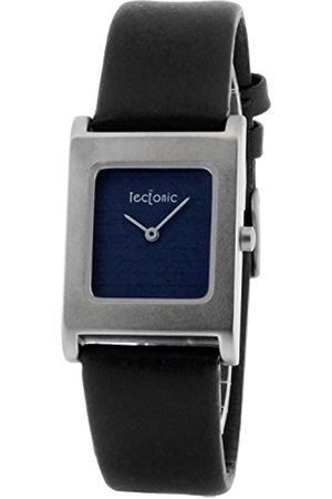 Tectonic Women's Quartz Watch with Dial Display and Leather Strap 41–6100–99