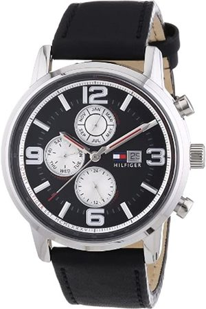 Tommy Hilfiger Gabe Men's Quartz Watch with Dial Analogue Display and Leather Strap 1710335