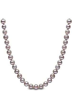 Kimura Kimura 7.5 mm Cultured Natural Colour Freshwater Pearl 18-inch Necklace 9 ct Yellow Gold
