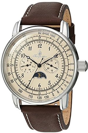 Burgmeister Men's Analogue Quartz Watch with Leather Strap BM335-195A