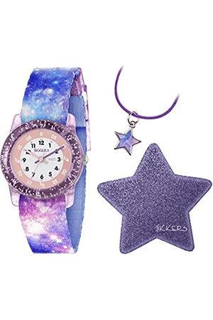 Tikkers Unisex Child Analogue Classic Quartz Watch with Nylon Strap ATK1030