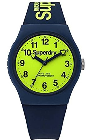 Superdry Unisex-Adult Analogue Quartz Watch with Silicone Strap SYG164UN