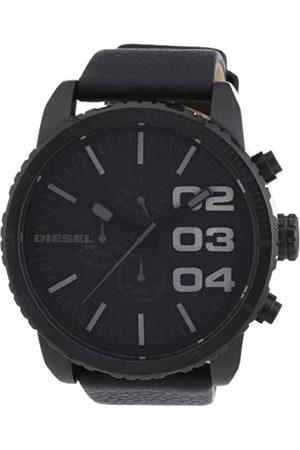 Diesel Men's Chronograph Quartz Watch with Leather Strap DZ4216