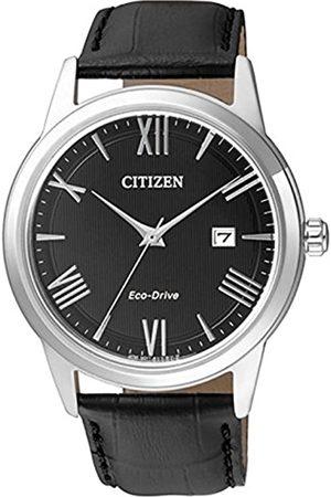 Citizen Men's Analogue Quartz Watch with Leather Strap AW1231-07E