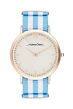 Andreas Osten Unisex Adult Analogue Quartz Watch with Nylon Strap AO-38