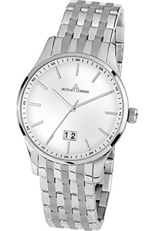 Jacques Lemans Men's Analogue Quartz Watch with Stainless Steel Strap 1-1862N