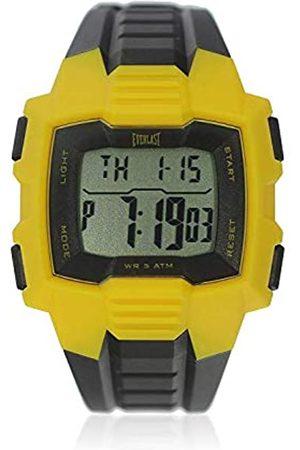 Everlast Unisex Adult Digital Quartz Watch with Plastic Strap EVER33-507-010