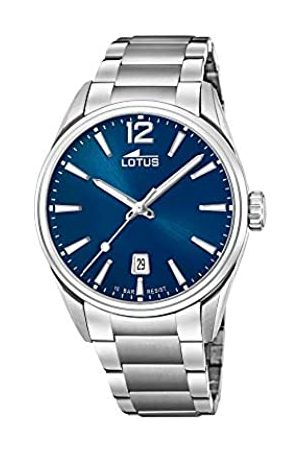 Lotus Mens Analogue Quartz Watch with Stainless Steel Strap 18692/1