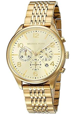 Michael Kors Unisex Adult Chronograph Quartz Watch with Stainless Steel Strap MK8638