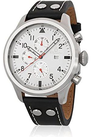 Burgmeister Men's Analogue Quartz Watch with Leather Strap BM227-112