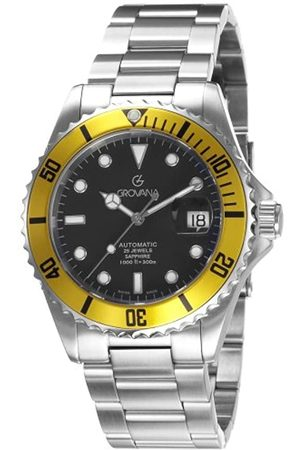 Grovana Men's Watch Diver Automatic Yellow 1571.2138