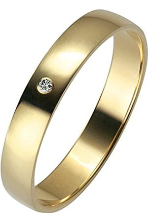 Trauringe Liebe hoch zwei Unisex 03500321405054 I2 0.01 carats Diamond 14ct Ring Size P 1/2