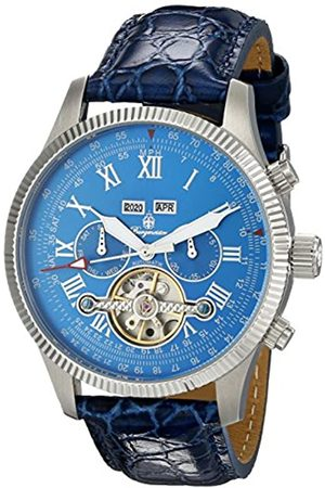 Burgmeister BM330-133 Malabo, Gents automatic watch, Analogue display - Water resistant, Stylish leather strap