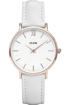 Cluse Womens Analogue Classic Quartz Watch with Leather Strap CL30056