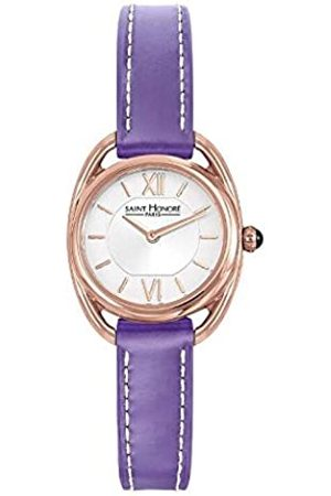 Saint Honore Women's Analogue Quartz Watch with Leather Strap 7210268AIR-PUR