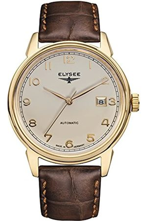 ELYSEE Men's 80547 Classic-Edition Analog Display Automatic Self Wind Brown Watch